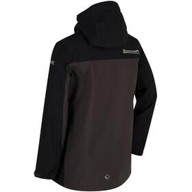 Regatta Hipoint Stretch III Jacket Kids Black/Ash